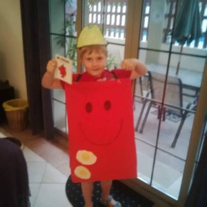 Mr Strong Costume